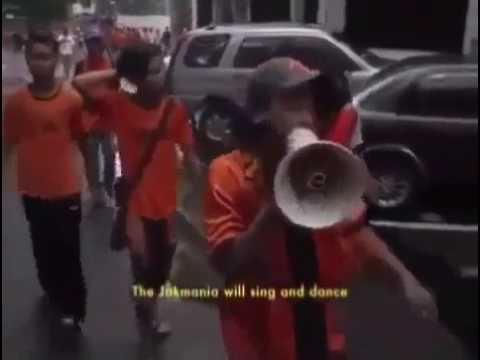 Chants The Jakmania Beraksi