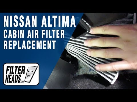 How to Replace Cabin Air Filter 2016 Nissan Altima