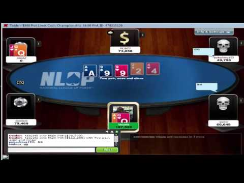 POKER 1st place NLOP $300 freeroll