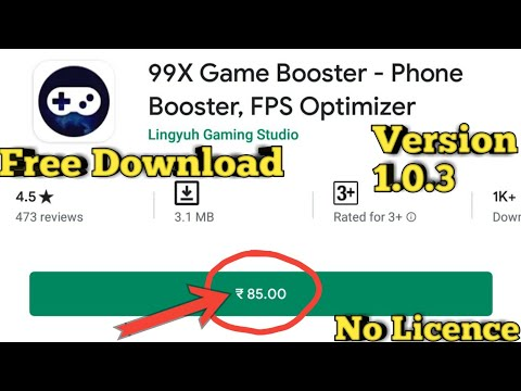 99x Game Booster Phone Booster Fps Optimizer V1.0.3 By Technical Legends