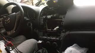 Распаковка и установка ГУ на Mazda 6 магнитола 10.2 android