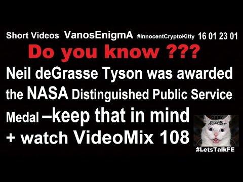 16012301 Neil deGrasse Tyson NASA Award Public Service Medal MindFuck Pear Shaped Flat Earth Bitcoin