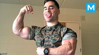 Super US Marine with Crazy Skills - Julian Miguel Arroyo | Muscle Madness