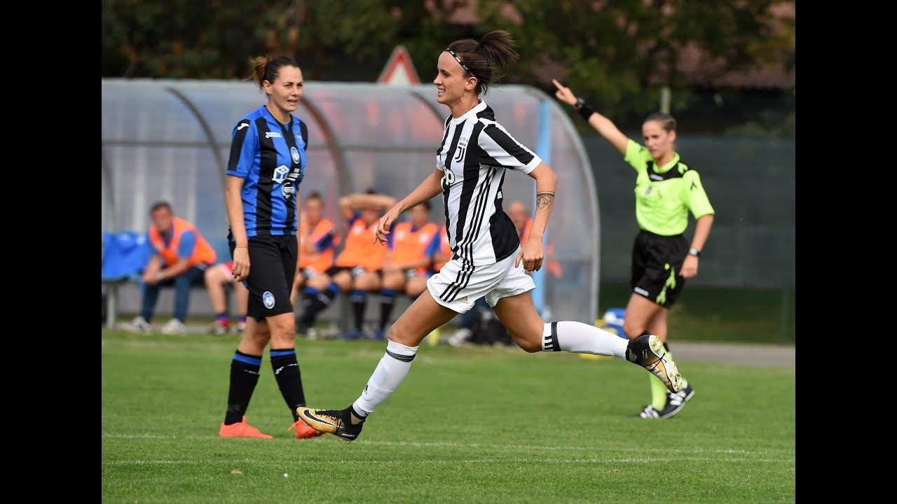 Highlights Atalanta Mozzanica Vs Juventus Women 0 3 30 9 2017