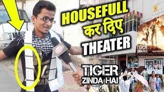 Tiger Zinda Hai के लिए हमने पूरा Theater HouseFull कर दिए | Public Review | Salman Khan | Katrina
