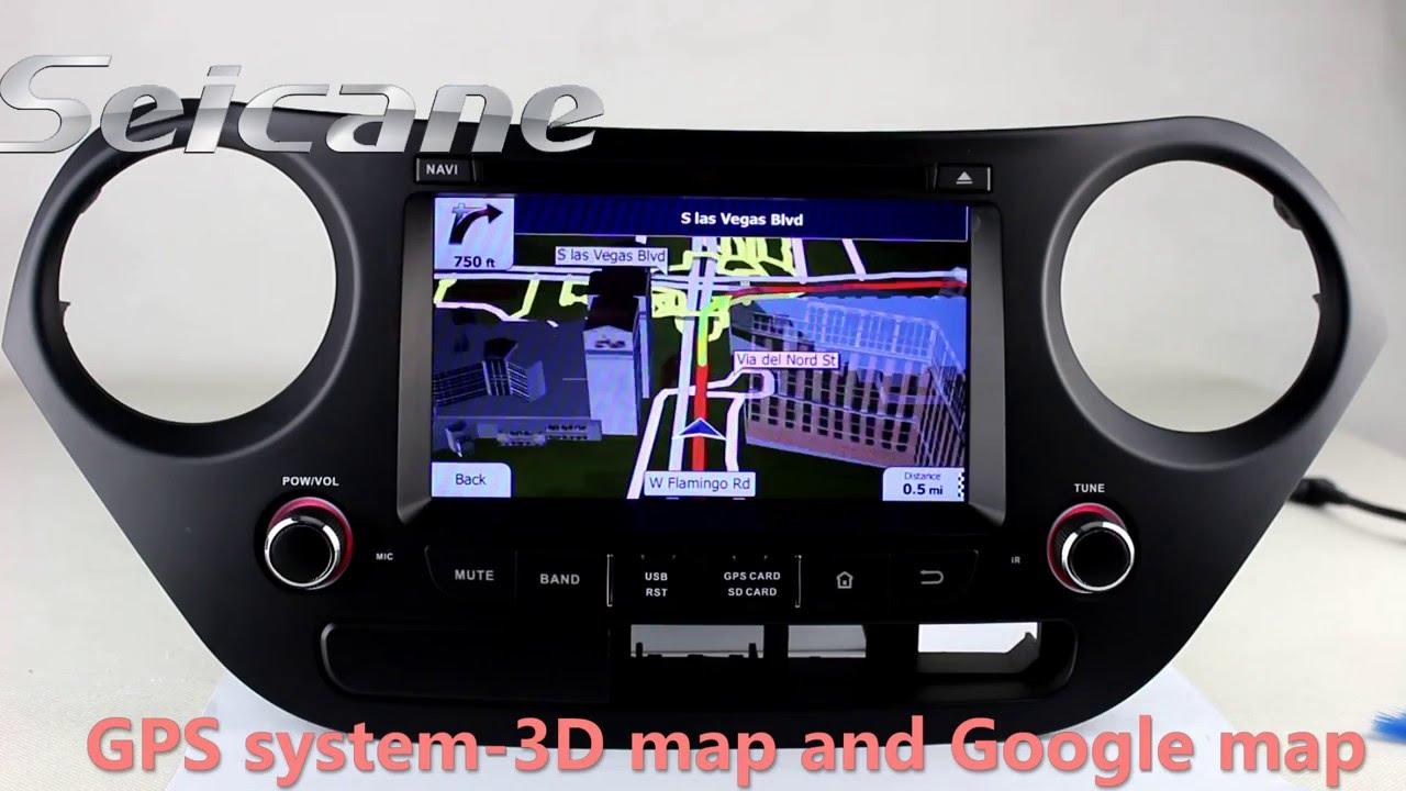 upgrade 2014 2015 hyundai i10 radio for dvd gps navigation. Black Bedroom Furniture Sets. Home Design Ideas