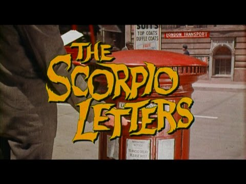 THE SCORPIO LETTERS (1967) Original Theatrical Trailer