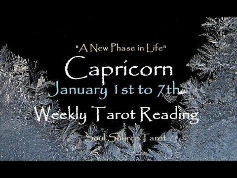 ~Capricorn~January 1st to 7th, 2018~Restoring Balance~Weekly Tarot Reading