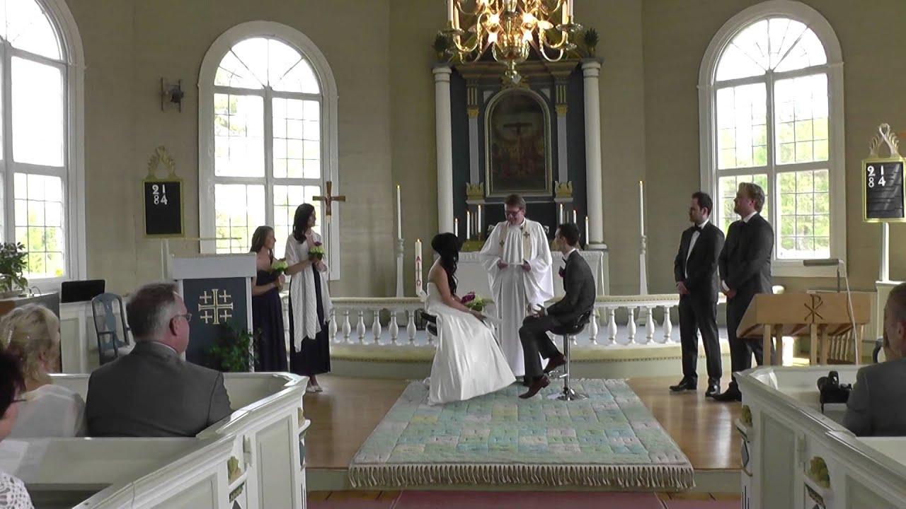 1c363074fb59 Vigsel i Skephults kyrka 17/5-14 - YouTube