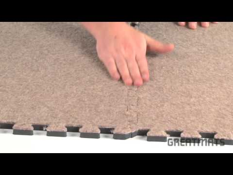 Basement Carpeting - Royal Interlocking Carpet Tiles