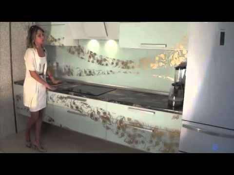 Подвесная кухня с декорированием фасадов своими руками