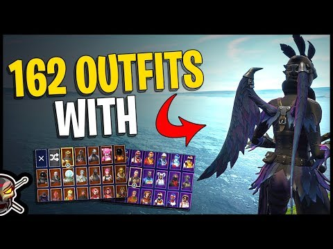 Dark Wings Back Bling On 162 Outfits | Ravage - Fortnite Cosmetics