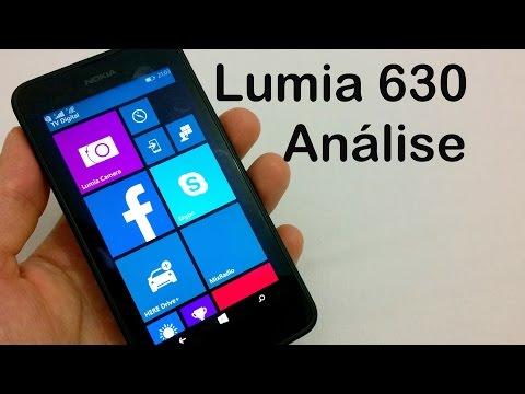 Nokia Lumia 630 Análise do Aparelho (Review BRASIL)