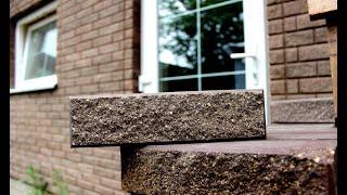 Дом из ФАГОТа Кирпич Мраморный с Фаской МрПП80 Шоколад. Где Купить в Белгороде Мраморную Крошку