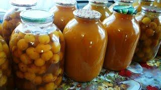 видео Сок из абрикосов на зиму