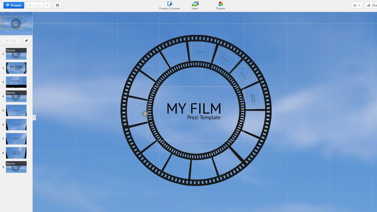 My Film - Prezi Template - YouTube
