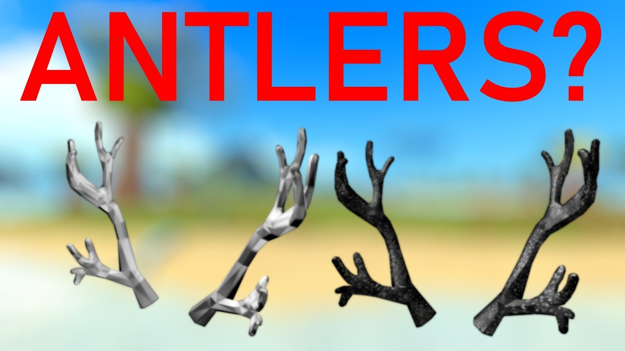 Roblox Frozen Antlers Of Everfrost Buying The Black Iron Antlers Roblox By Kingmustachepgn