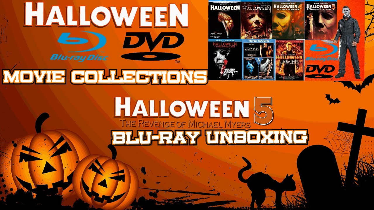 Halloween 5 Blu Ray.Halloween Blu Ray Dvd Collections