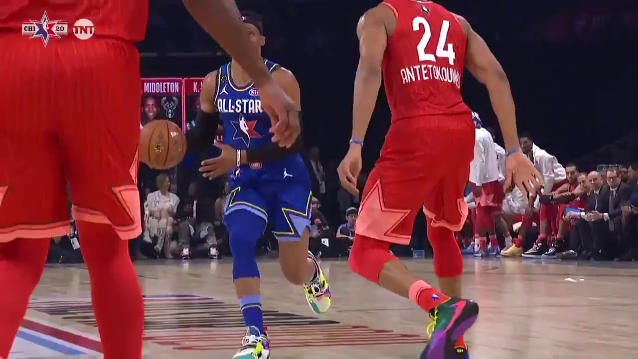 2020 All-Star Game: Chris Paul throws down first alley-oop dunk of ...