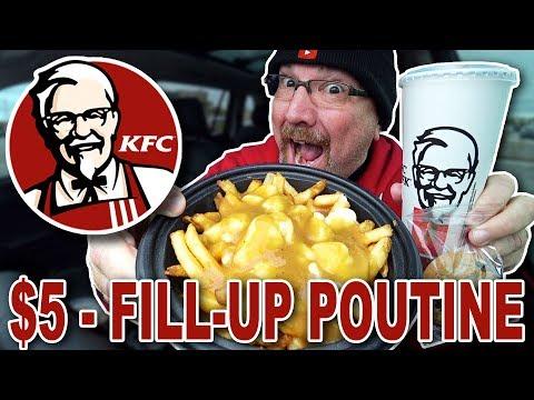 KFC 🍗 $5 • FILL UP POUTINE 🧀🍟