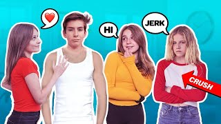 Flirting With My Best Friend To See How My Crush REACTS **Jealous Crush PRANK**  💔😡| Sawyer Sharbino