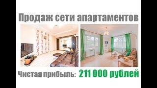 ПРОДАЖА БИЗНЕСА | Продажа сети апартаментов | Купить бизнес