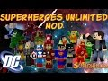 Minecraft Superheroes Unlimited Mod v.4.0.10 DC Heroes