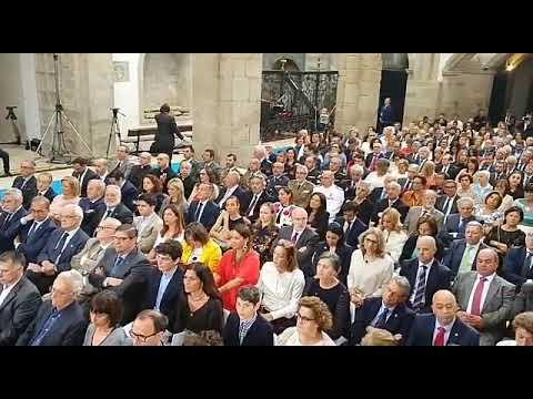 Feijóo preside a entrega das Medallas Castelao 2019