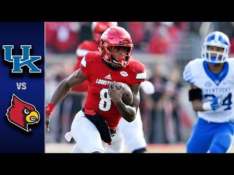Louisville vs. Kentucky Football Highlights (2016)