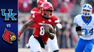 Louisville vs. kentucky: the wildcats scored on several big plays and kicked a game-winning 47-yard field goal with 12 seconds left to end their 5-game losin...