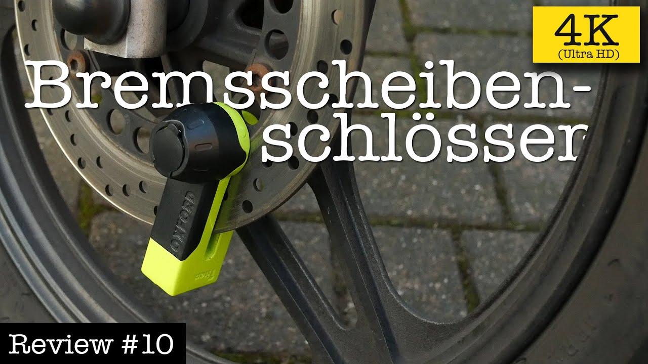 Sicherheit Schwarz Verriegelung mit 2 Schl/üsseln und Transporttasche f/ür Fahrrad Bremsscheibe Diebstahlsicherung f/ür Motorrad Bremsscheibenschloss Scooter