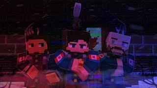Minecraft короткометражный фильм ужасов: Become a proxy, go crazy | Minecraft Machinima