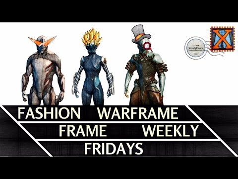 Warframe Fashion Frame Fridays Feat NEKROS IVARA
