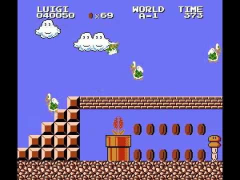 Super Mario Bros. 2  - Lost Levels NES (FDS) (+ World A-D) - Real Time Playthrough