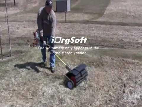 Wheel Kit For Sweeper Attachments Stihl Echo Shindaiwa