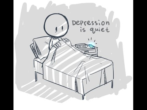 Depression comic  dub