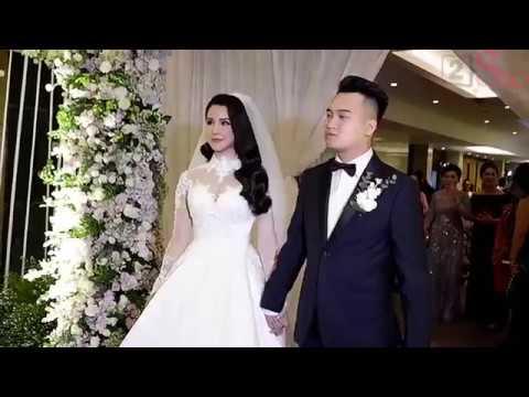 'Nữ thần' Diệp Lâm Anh trong đám cưới ngập tràn hoa