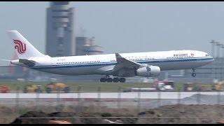 【飛行機】 着陸 : CCA(中国国際航空):  Airbus :【羽田空港】(つばさ公園) thumbnail