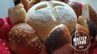 Очень вкусный домашний хлеб Пошаговый рецепт С покупным не сравнится
