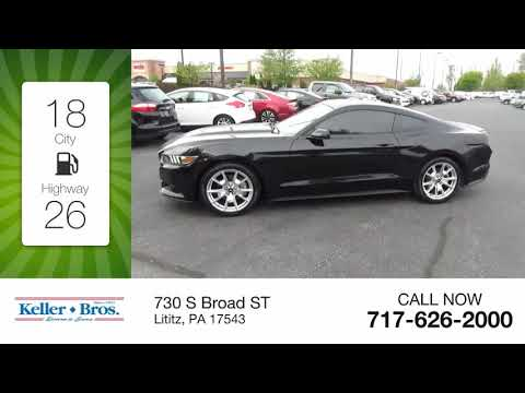 2015 Ford Mustang EcoBoost Premium Used 3437B