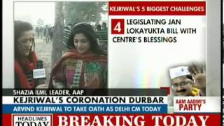 Shazia Ilmi talks about the AAP