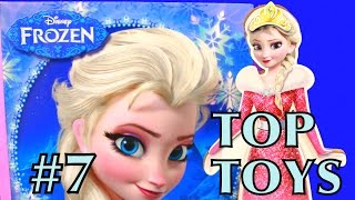 Top Toys Frozen Wooden Elsa Doll Set Disney Princess Frozen Activity Book Christmas 2014 Toy Review