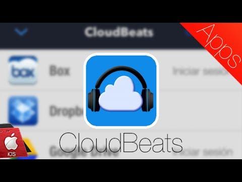 CloudBeats, reproduce música desde la nube #iOS