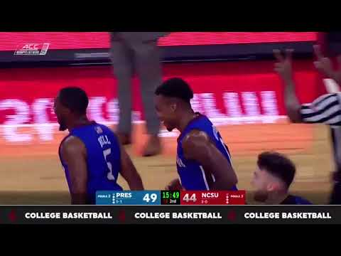Presbyterian College Basketball 17 18 Highlights