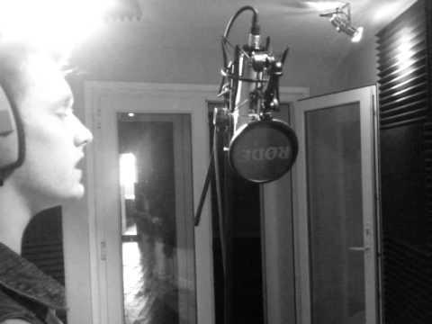 Zack singing Again by Scott Alan