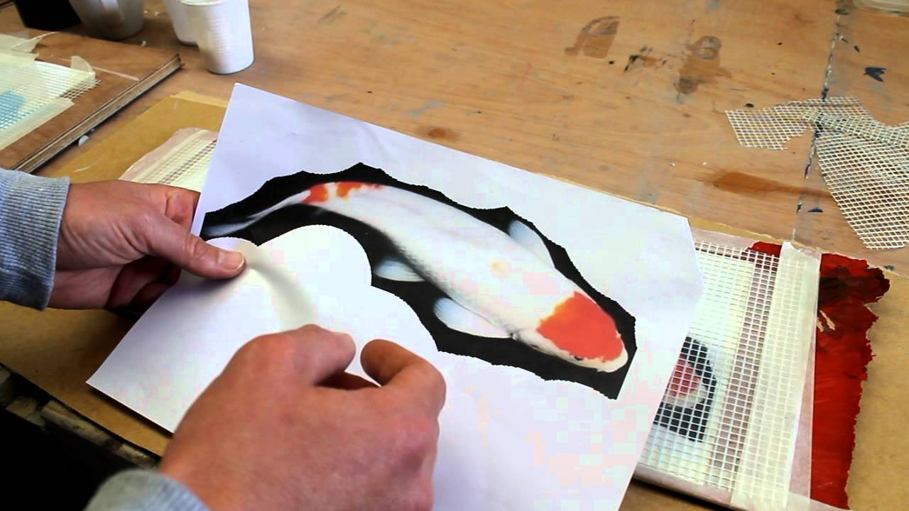 superb Koi Mosaics Part - 6: Koi Mosaic 1