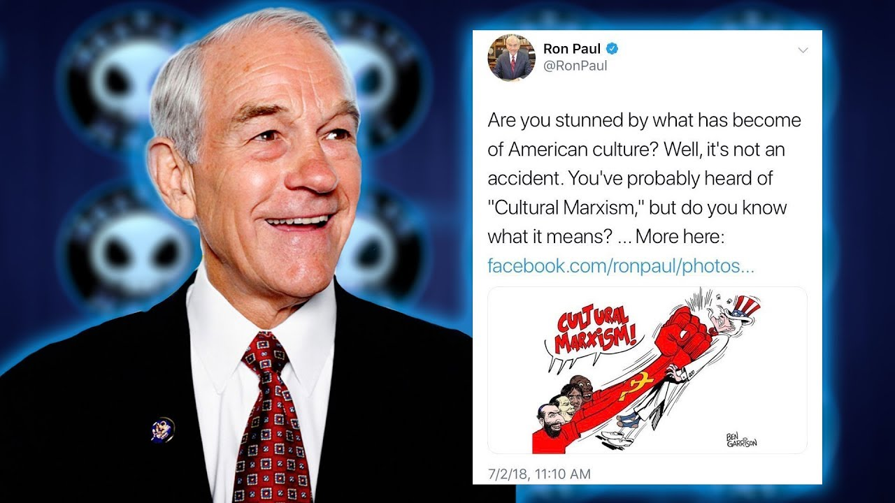 Ron paul share tweet