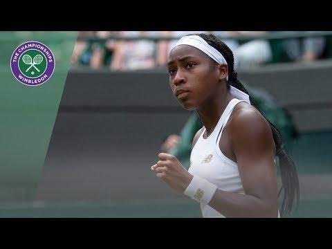 Venus Williams vs Cori Gauff Wimbledon 2019 First Round Highlights