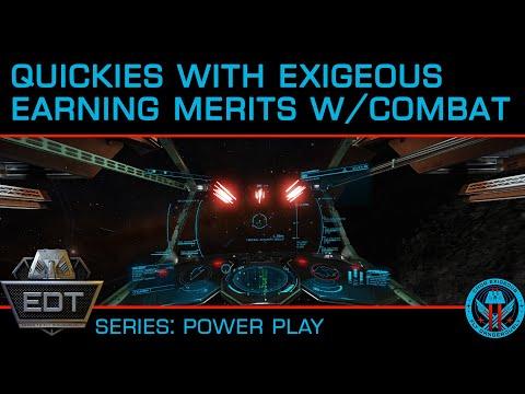 Earning Power Play Merits w/Combat PvE, Bounty Hunting, Nav Beacon, Interdiction in Elite Dangerous