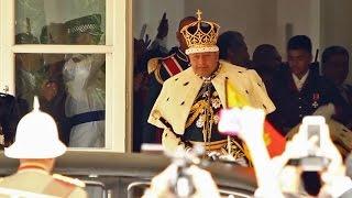 トンガ国王の戴冠式を各国の軍楽隊が祝福 - Military Band Bless The Coronation of Tonga King
